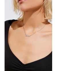 Urban Outfitters | Metallic Thrive Nameplate Necklace | Lyst
