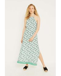 5aa919e6c2 Urban Outfitters Uo Blaze Mint Maxi Dress - Womens S in Green - Lyst