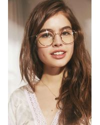 Urban Outfitters - Brown Kendall Round Readers - Lyst