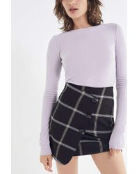 Out From Under - Purple Karmen Pointelle Top - Lyst