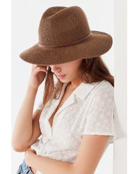 Urban Outfitters - Multicolor Nubby Woven Panama Hat - Lyst