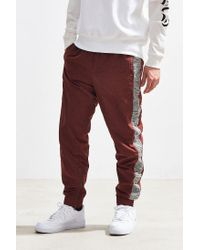 Urban Outfitters - Brown Uo Side Tape Wind Pant for Men - Lyst
