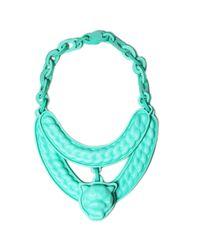 EK Thongprasert | Blue Mint Jaguar Necklace | Lyst