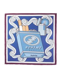 Yazbukey - Metallic Le Boheme Cigarette Scarf - Lyst