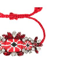 Shourouk - Multicolor Red Bora Bracelet for Men - Lyst
