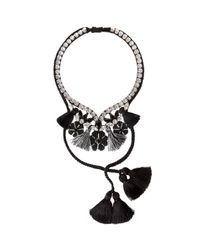 Shourouk | Black Apache Necklace | Lyst