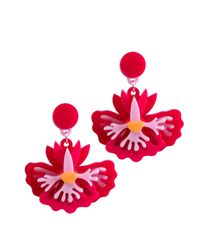 Yazbukey | Multicolor Orchid Earrings | Lyst
