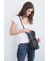 Velvet By Graham & Spencer - Montana Crossbody Bag In Black - Lyst