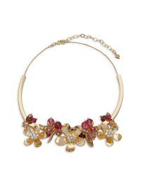 Vera Bradley - Multicolor Petals Statement Necklace - Lyst