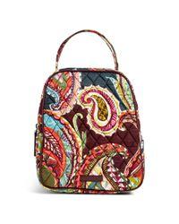 Vera Bradley - Red Lunch Bunch Bag - Lyst