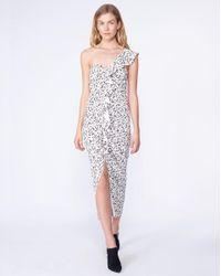 Veronica Beard - White Ruffian Dress - Lyst