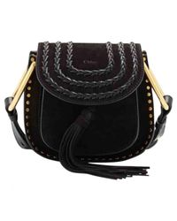 Chloé - Black Pre-owned Hudson Crossbody Bag - Lyst