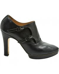 Repetto - Black Leather Ankle Boots - Lyst