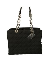 Dior - Black Leather Handbag - Lyst