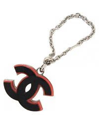 Chanel - Black Pre-owned Bag Charm - Lyst
