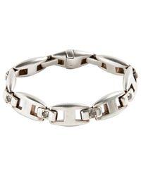 Hermès - Metallic Silver Bracelet - Lyst