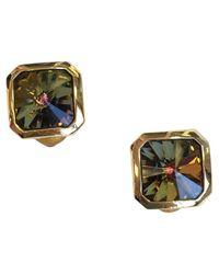 Dior - Metallic Pre-owned Vintage Gold Metal Earrings - Lyst