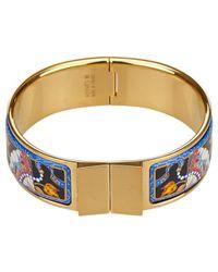 Hermès | Pre-owned Blue Metal Bracelet | Lyst