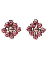 Louis Vuitton - Red Pre-owned Earrings - Lyst