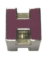 Hermès | Metallic Pre-owned Pendant | Lyst
