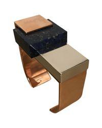 Céline - Multicolor Multicolour Metal Bracelet - Lyst