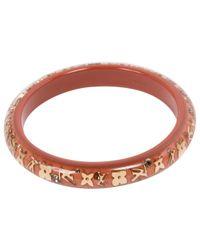 Louis Vuitton - Brown Pre-owned Inclusion Bracelet - Lyst