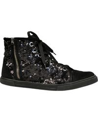 Louis Vuitton | Black Pre-owned Trainers | Lyst