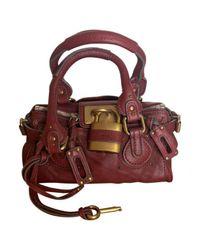 Chloé - Multicolor Pre-owned Paddington Leather Handbag - Lyst