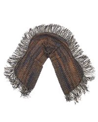 Missoni - Gray Multicolour Wool Scarves - Lyst