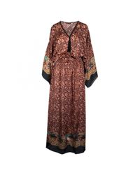 Roberto Cavalli - Red Pre-owned Maxi Dress - Lyst