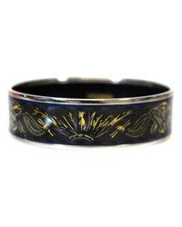Hermès - Black Pre-owned Bracelet Email Bracelet - Lyst
