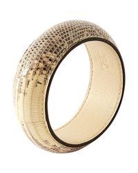 Hermès - Natural Pre-owned Beige Bracelet - Lyst