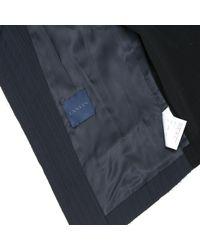 Lanvin - Blue Wool Jacket - Lyst