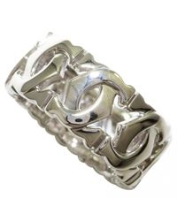 Cartier - Metallic Pre-owned White Gold Ring - Lyst
