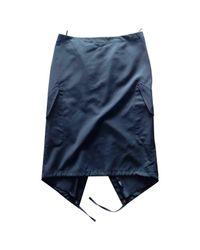 Jean Paul Gaultier - Black Wool Mid-length Skirt - Lyst