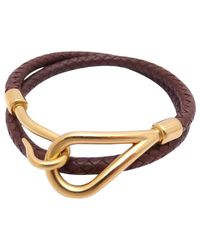 Hermès - Brown Pre-owned Leather Jewellery - Lyst