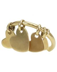 Dior | Metallic Pre-owned Yellow Gold Ring | Lyst