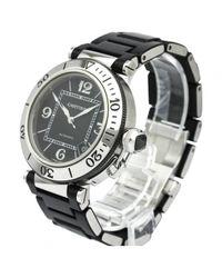 Cartier - Black Pasha Seatimer Watch for Men - Lyst