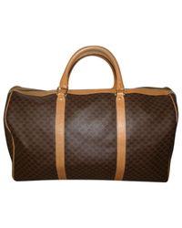 Céline - Brown Pre-owned 48-hour Bag - Lyst