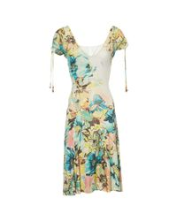 Roberto Cavalli Multicolor Pre-owned Vintage Multicolour Viscose Dresses