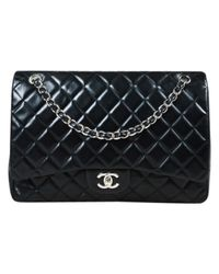 Chanel - Black Timeless Leather Handbag - Lyst