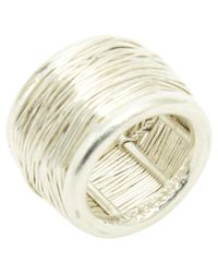 Tiffany & Co - Metallic Silver Ring - Lyst