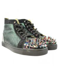 Christian Louboutin - Multicolor Pre-owned Boots - Lyst