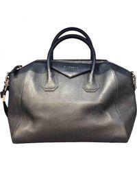 Givenchy - Black Pre-owned Antigona Leather Handbag - Lyst