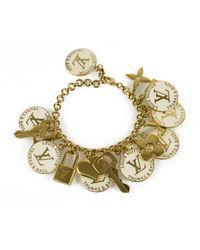 Louis Vuitton - Pre-owned White Metal Bracelet - Lyst