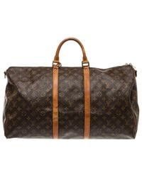 Louis Vuitton | Brown Pre-owned Backpack | Lyst