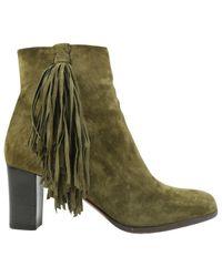 Christian Louboutin - Green Boots - Lyst