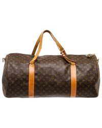 Louis Vuitton - Brown Cloth 48h Bag - Lyst