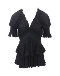 Givenchy - Black Top - Lyst