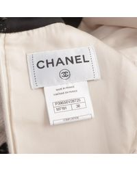 Chanel - Natural Pre-owned Cashmere Mid-length Dress - Lyst